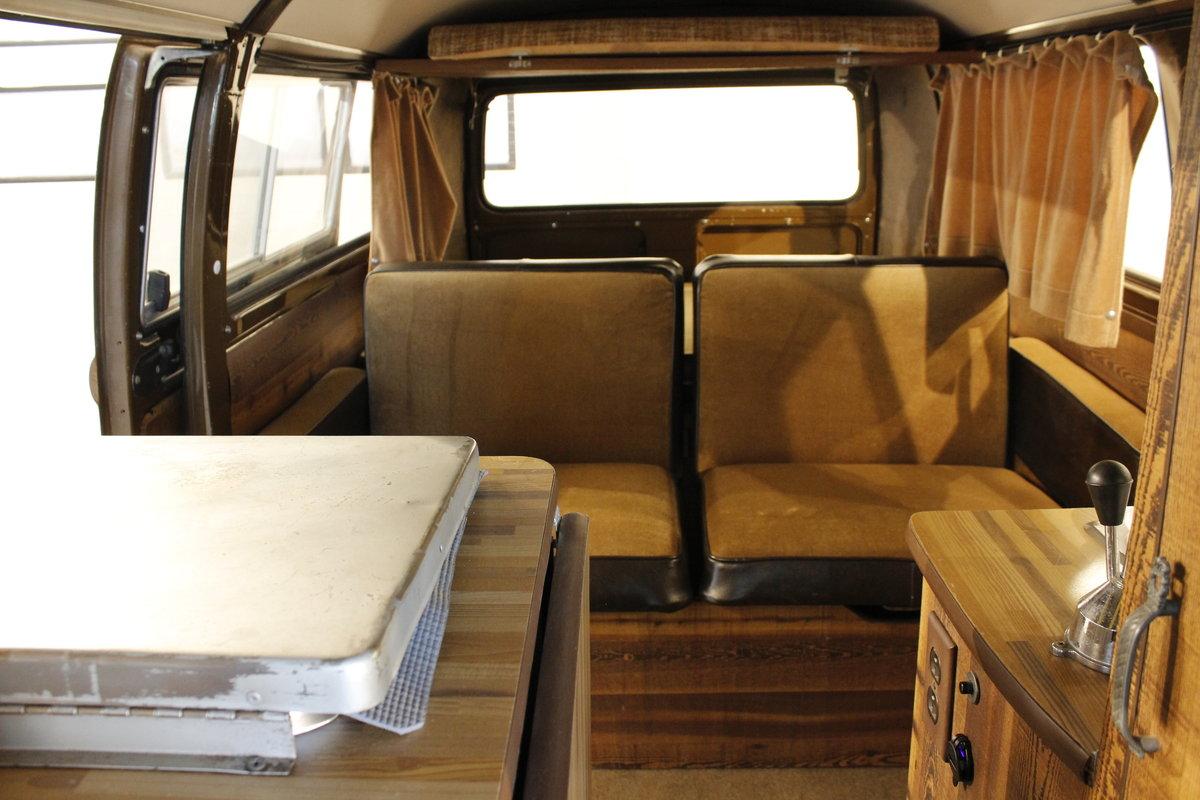 1979 Volkswagen T2 2,0 Camper van For Sale (picture 5 of 6)