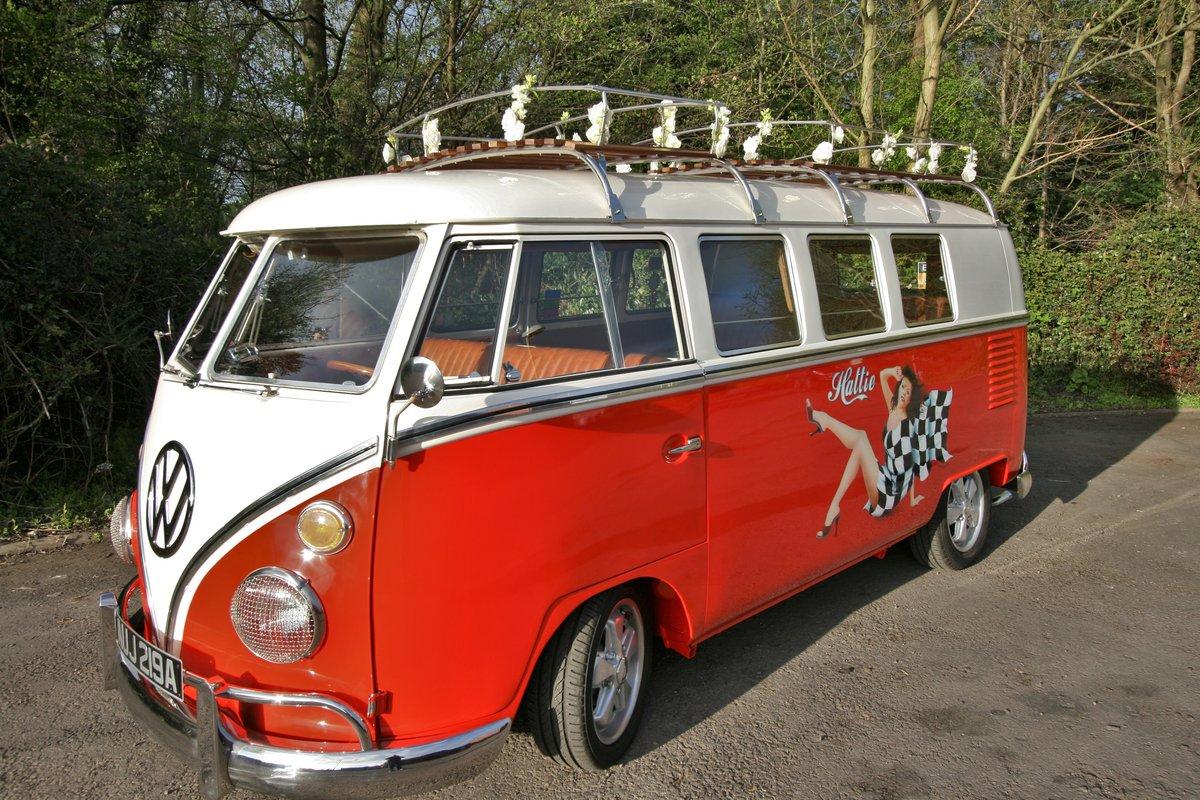 1963 Volkswagon Splitscreen Camper £100,000 restoration For Sale (picture 1 of 6)