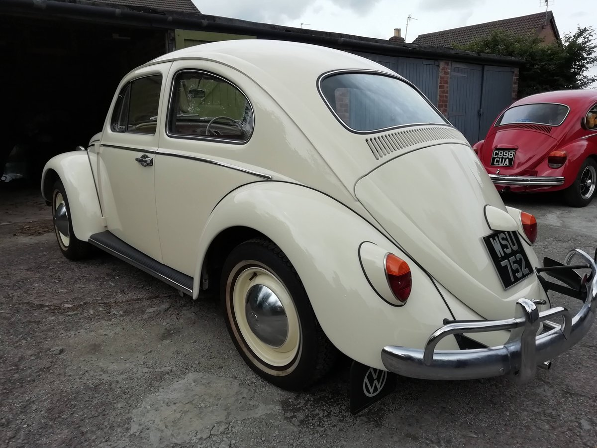 Immaculate 1963 beetle 1200 fully restored For Sale (picture 3 of 6)