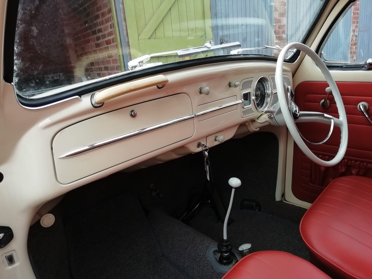 Immaculate 1963 beetle 1200 fully restored For Sale (picture 5 of 6)
