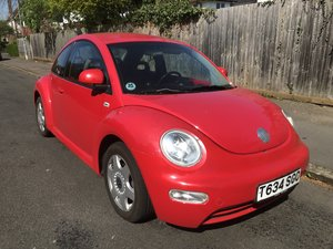 1999 Vw beetle left hand drive one owner from new For Sale