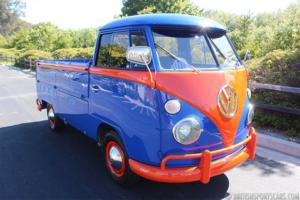 1966 Volkswagen TransPorter = clean solid Blue driver $24.9k For Sale