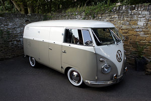 1957 VW Splitscreen Panel Van - Fully Restored For Sale