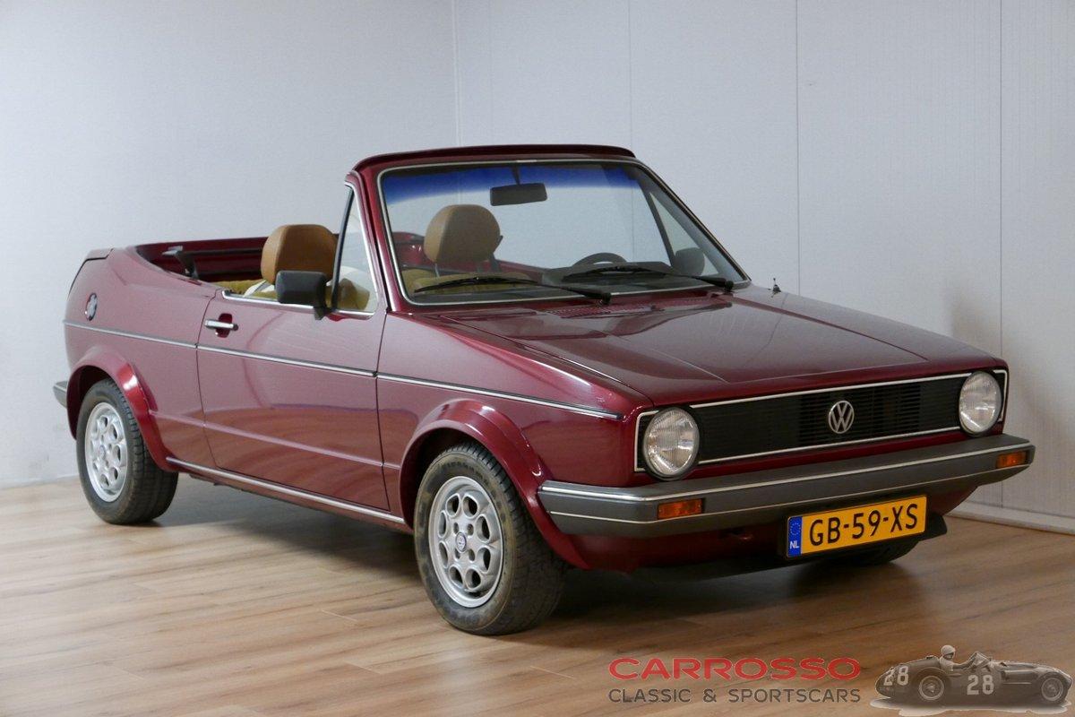 1980 Volkswagen Golf 1 Bieber Cabriolet For Sale (picture 1 of 6)