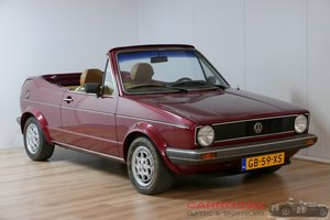 1980 Volkswagen Golf 1 Bieber Cabriolet For Sale