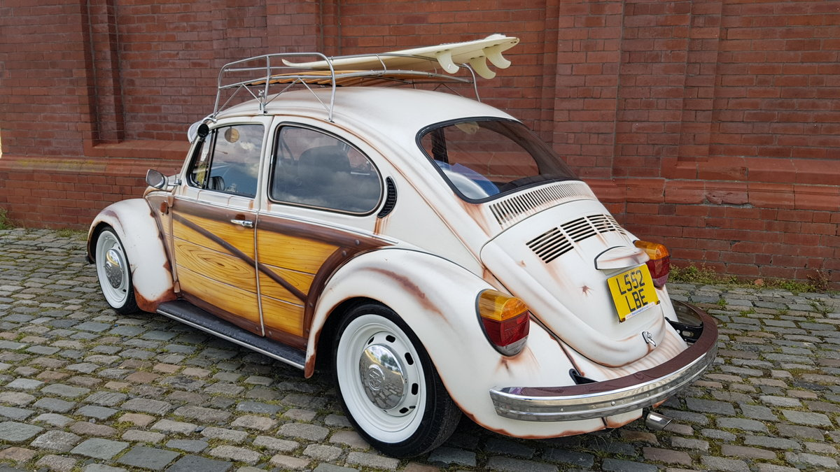 1993  VOLKSWAGEN BEETLE CLASSIC 1.6 AIR COOLED BUG LHD LEFT HAND  SOLD (picture 2 of 6)