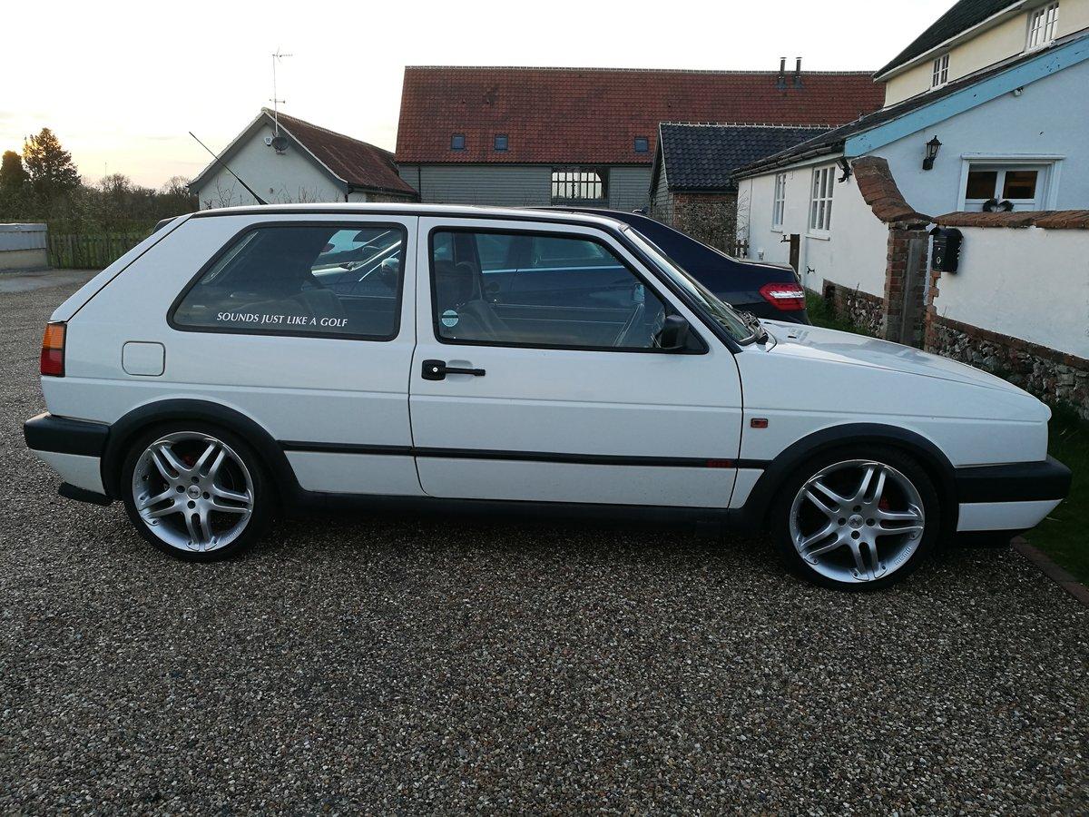 1991 Volkswagen Mk2 Golf Gti 8v 3dr For Sale (picture 2 of 6)