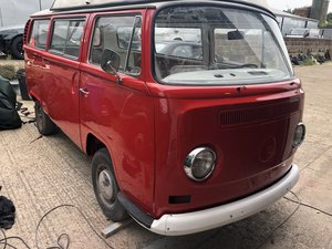 1970 Volkswagen campervan type 2 bay window project For Sale