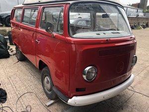 1970 Volkswagen campervan type 2 bay window project For Sale