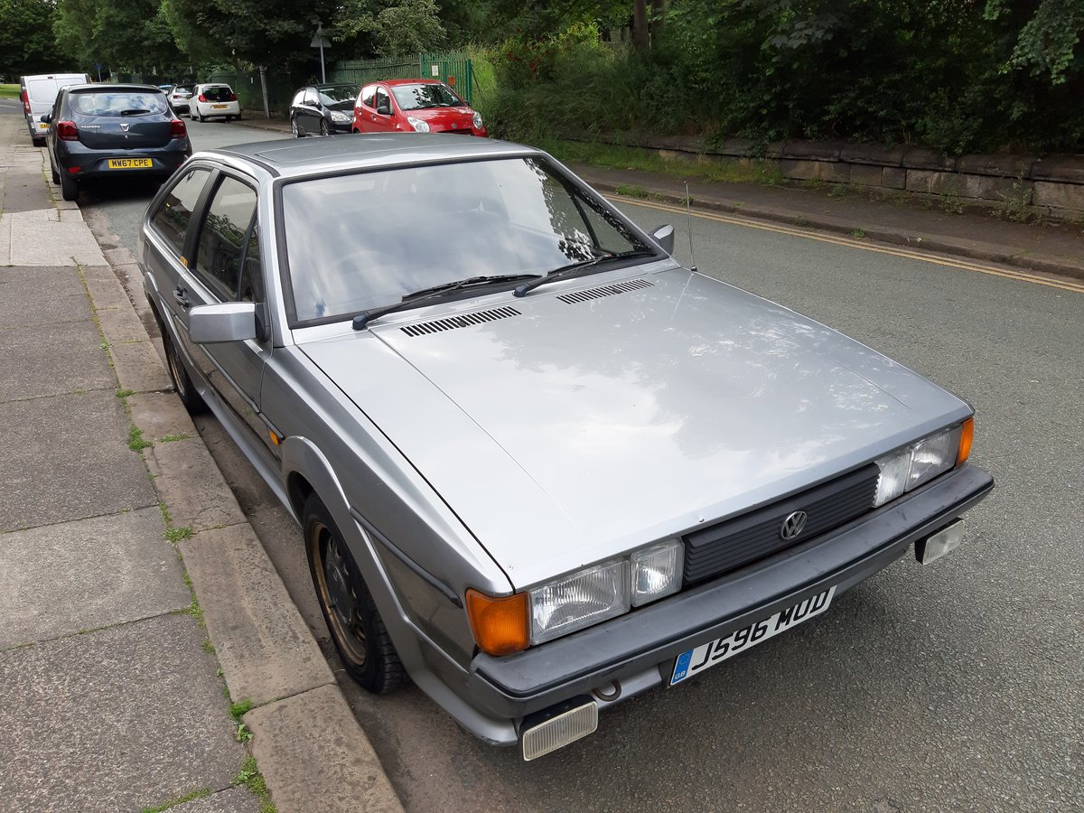 1991 VW Scirocco Mk2 GTII - 1.8l (EX engine) SOLD (picture 1 of 6)