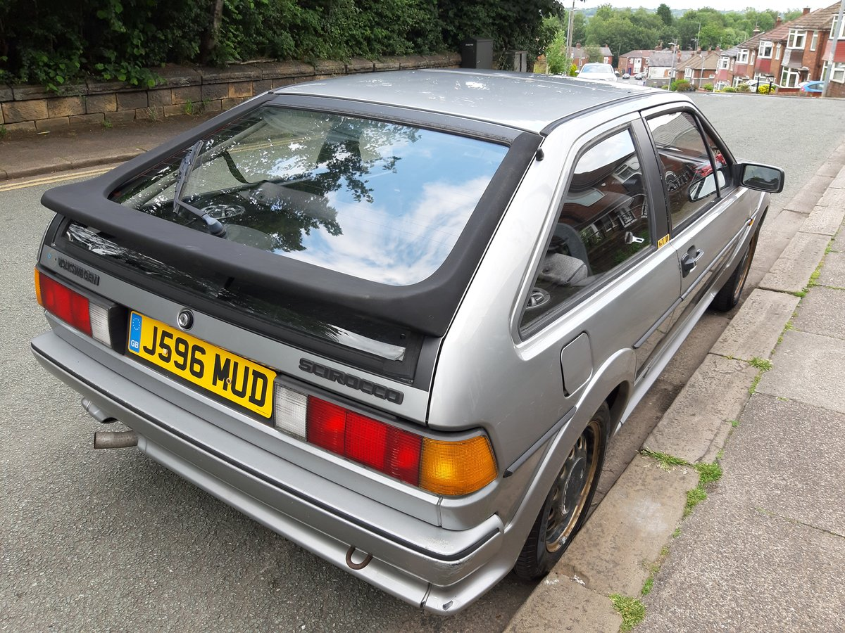 1991 VW Scirocco Mk2 GTII - 1.8l (EX engine) SOLD (picture 2 of 6)