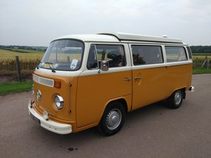 1973 VW T2 Camper van Baywindow 2 litre engine For Sale