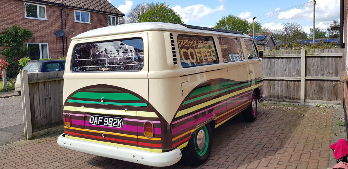 1972 VW Camper  Coffee Bus For Sale by Auction (picture 4 of 5)