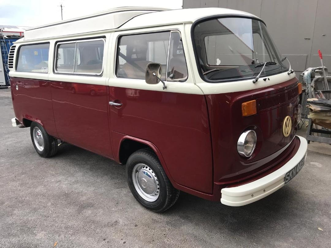 1974 VW Campervan T2 Bay Window For Sale (picture 1 of 6)