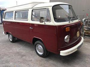 1974 VW Campervan T2 Bay Window For Sale
