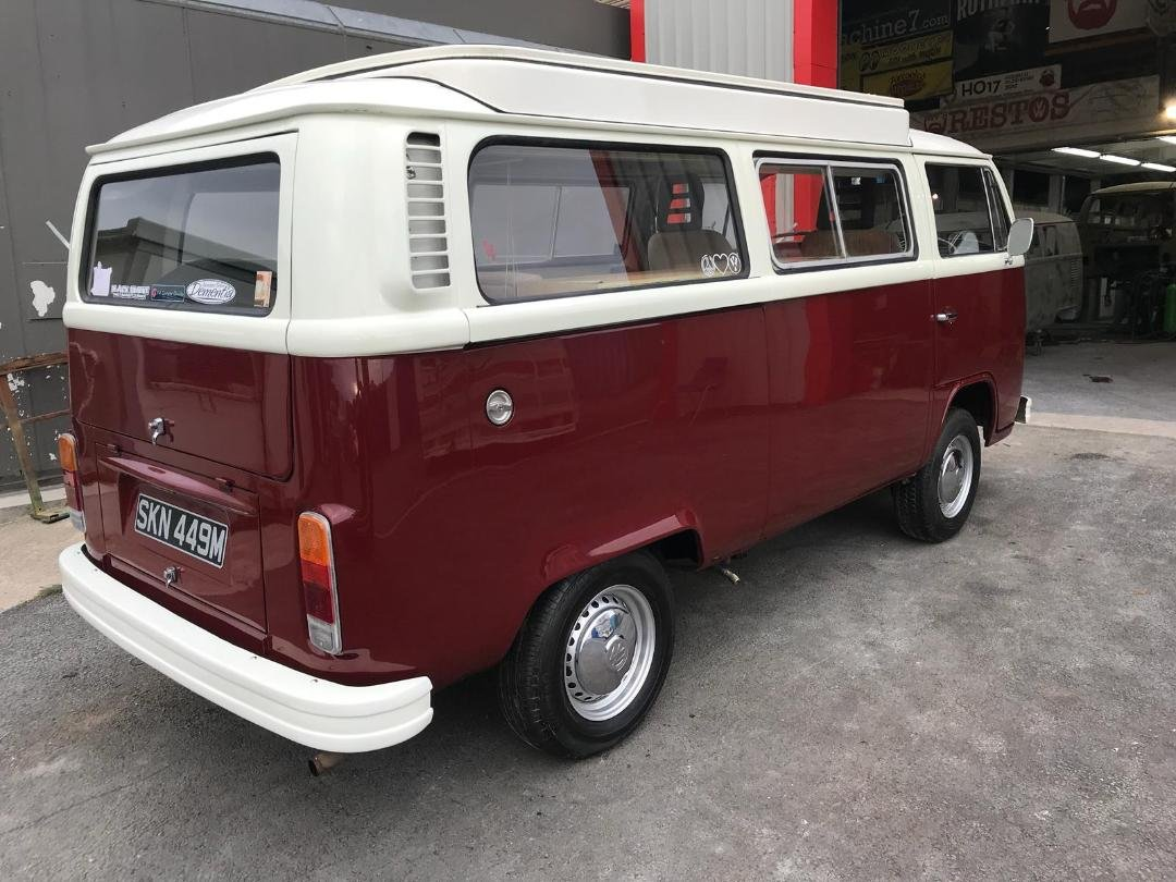 1974 VW Campervan T2 Bay Window For Sale (picture 2 of 6)