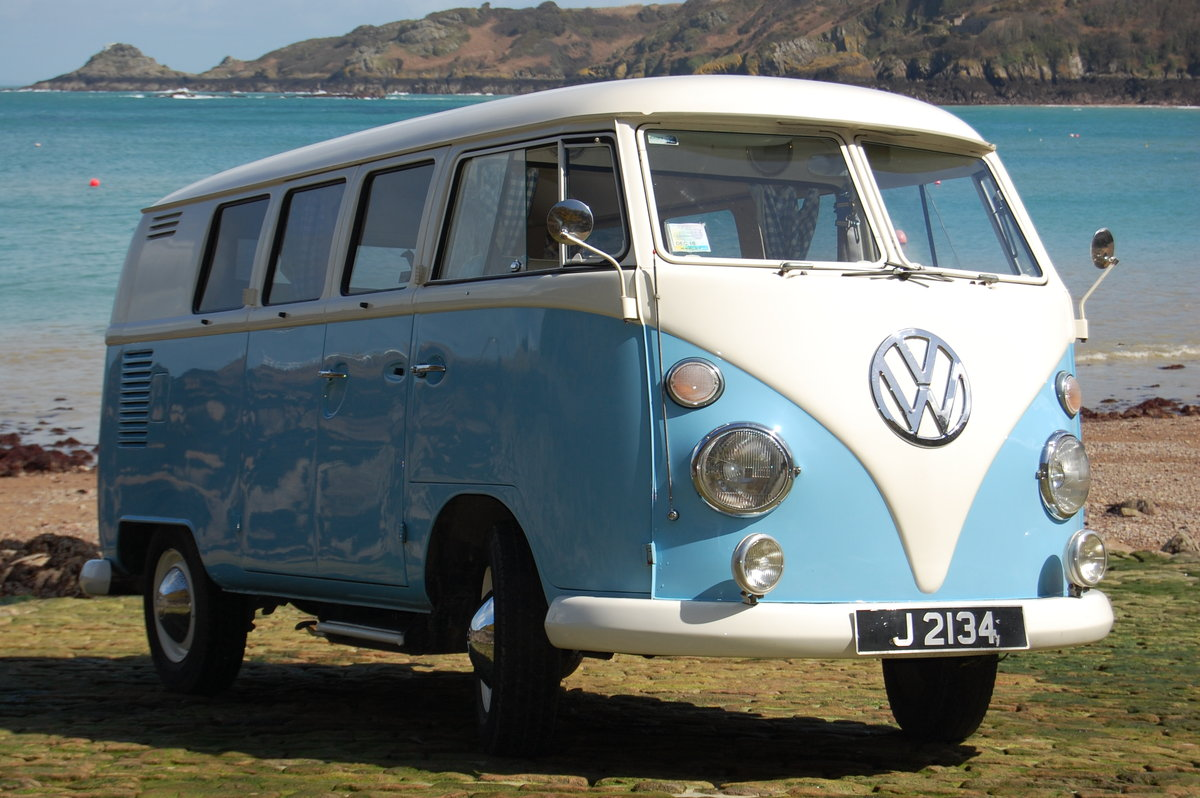 1967 Volkswagen Spilt Screen Day Camper from Jersey Camper Hire For Hire (picture 1 of 6)