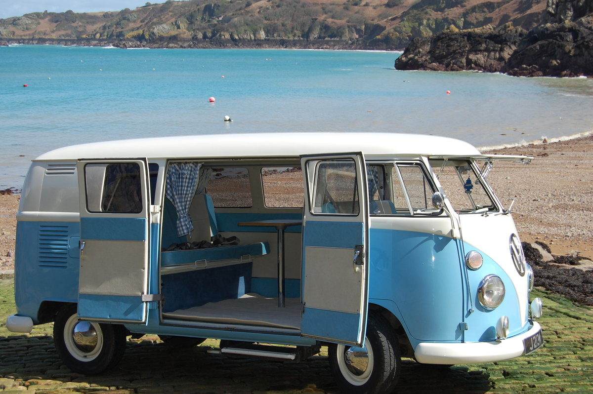 1967 Volkswagen Spilt Screen Day Camper from Jersey Camper Hire For Hire (picture 3 of 6)