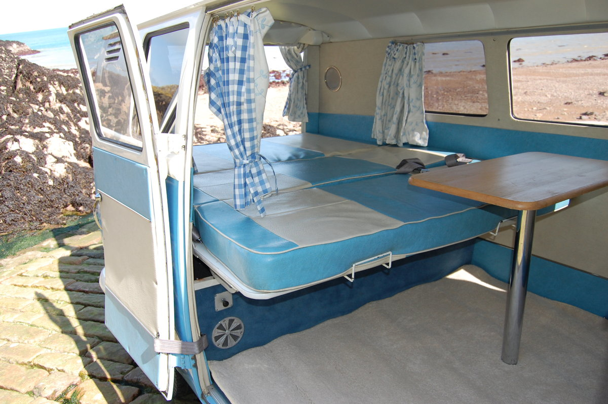 1967 Volkswagen Spilt Screen Day Camper from Jersey Camper Hire For Hire (picture 5 of 6)