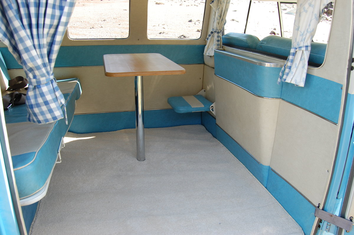 1967 Volkswagen Spilt Screen Day Camper from Jersey Camper Hire For Hire (picture 6 of 6)
