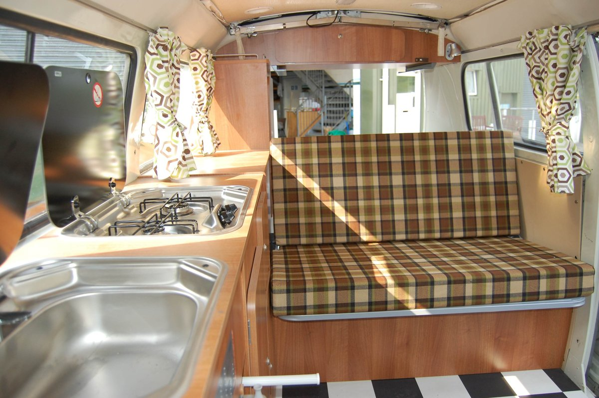 1977 VW T2 Devon Camper Van from Jersey Camper Hire For Hire (picture 2 of 6)