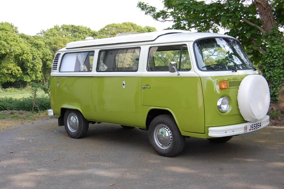 1977 VW T2 Devon Camper Van from Jersey Camper Hire For Hire (picture 4 of 6)