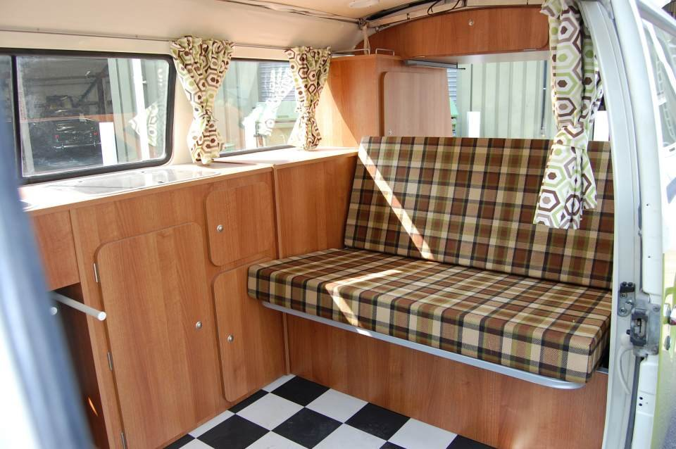 1977 VW T2 Devon Camper Van from Jersey Camper Hire For Hire (picture 6 of 6)