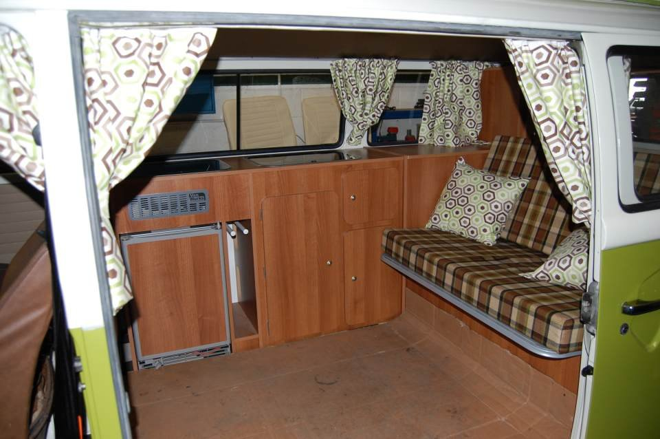 1977 VW T2 Devon Camper Van from Jersey Camper Hire For Hire (picture 5 of 6)