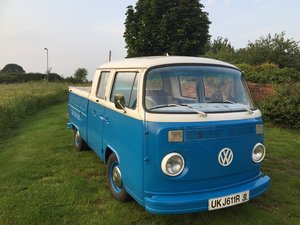 1977 VW T2 BAY CREW CAB / DOUBLE CAB PICKUP For Sale