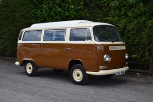 1972 Volkswagen Bay Window Camper