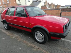 1990 VW Golf Driver 1.6L MK2 - 5 door For Sale