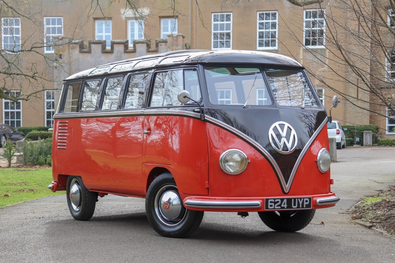 1955 Volkswagen Microbus Deluxe For Sale (picture 1 of 6)
