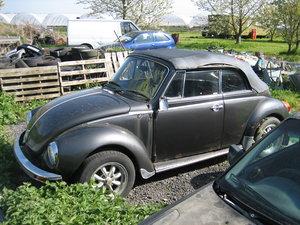 1993 Volkswagon Beetle Convertible For Sale