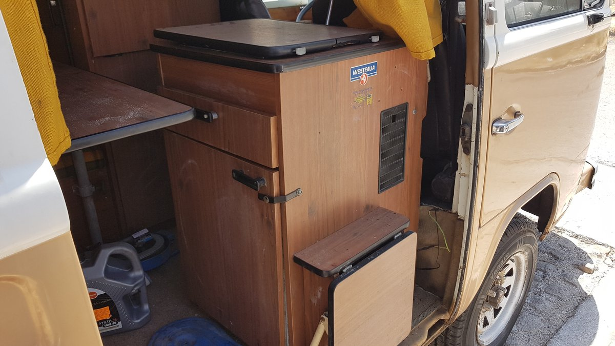 1973 VW T2 Westfalia Camper For Sale (picture 5 of 6)