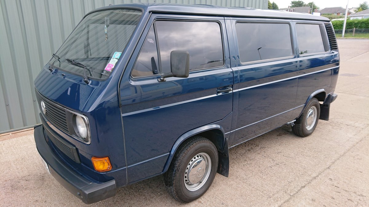 1988 Volkswagen T25 2WD Caravele C For Sale (picture 1 of 6)