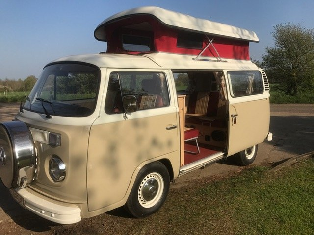 1973 Australian imported RHD camper, full leather, flawless spec  For Sale (picture 1 of 6)