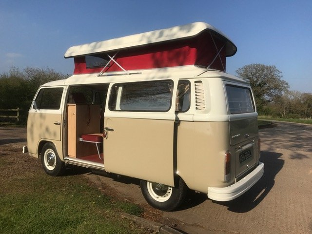 1973 Australian imported RHD camper, full leather, flawless spec  For Sale (picture 4 of 6)