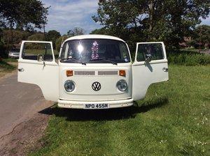 VW t2 campervan ,Devon int,new vw engine 1973