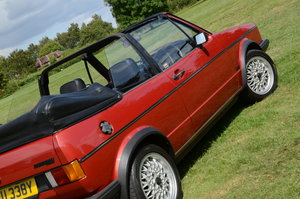 1982 VW Golf Mk1 Convertible - exceptional & original For Sale