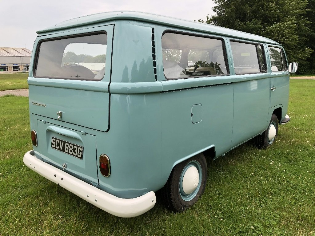 Lot 35 - A 1969 Volkswagen T2 Combi - 21/07/2019 For Sale by Auction (picture 5 of 6)