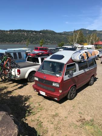 1987 87 V(~) Vanagon Dehler Profi Westfalia+ 04 Subaru Engine $27 For Sale (picture 6 of 6)