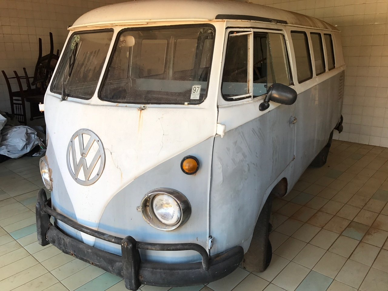VOLKSWAGEN T1 ORIGINAL 1959 VW KOMBI SPLIT SCREEN CAMPER For Sale (picture 1 of 6)