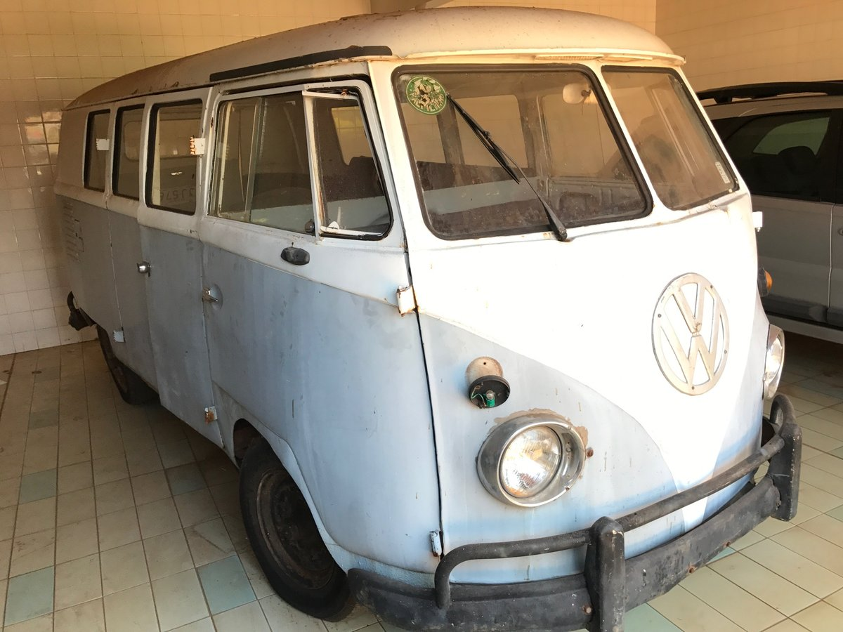 VOLKSWAGEN T1 ORIGINAL 1959 VW KOMBI SPLIT SCREEN CAMPER For Sale (picture 2 of 6)
