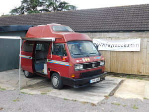 1989 VW WESTFALIA CALIFORNIA 4 BERTH For Sale