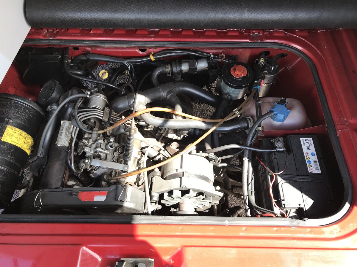 1990 VANAGON California DIESEL AUTO The best out there. For Sale (picture 6 of 6)