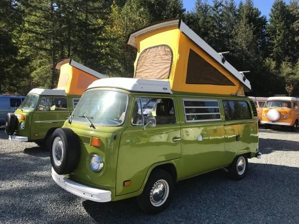 1979 79 VW Westfalia Camper Van Solar Panel Go Green Auto $24.5  For Sale (picture 1 of 6)