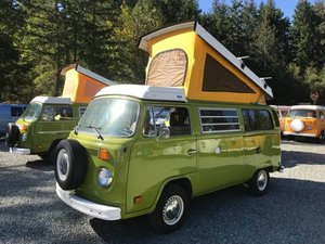 1979 79 VW Westfalia Camper Van Solar Panel Go Green Auto $24.5