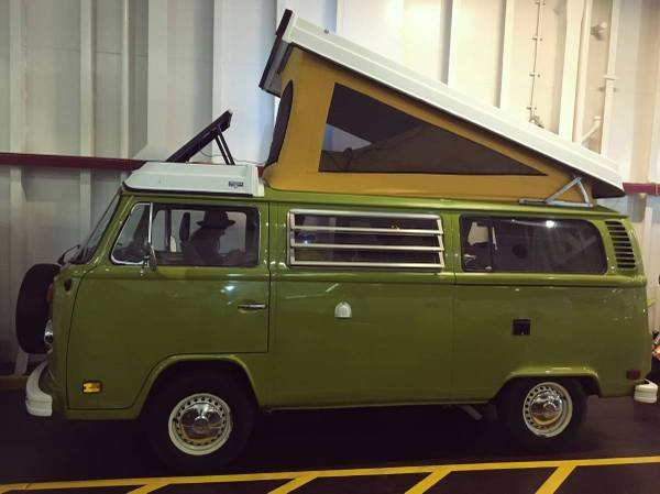 1979 79 VW Westfalia Camper Van Solar Panel Go Green Auto $24 5 For