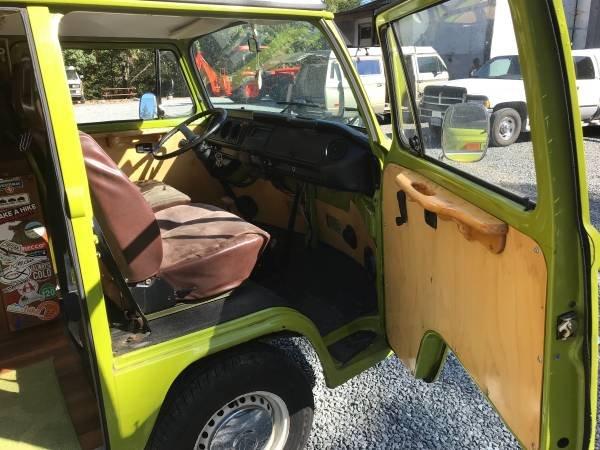1979 79 VW Westfalia Camper Van Solar Panel Go Green Auto $24.5  For Sale (picture 3 of 6)