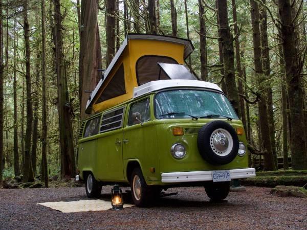 1979 79 VW Westfalia Camper Van Solar Panel Go Green Auto $24.5  For Sale (picture 4 of 6)